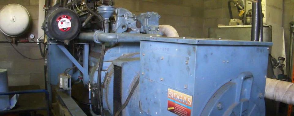 Biogasanlage Dorff - BHKW