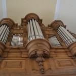 Orgelprospekt, das äußere Erscheinungsbild der Orgel