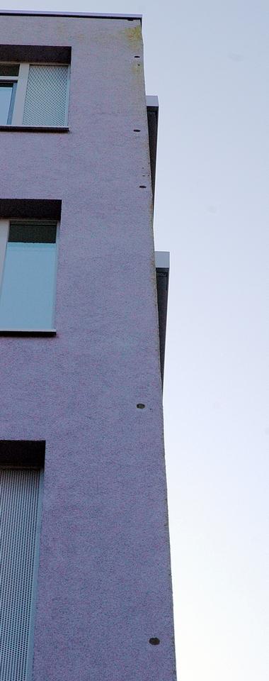 Fassade des Neubaus als Baumersatz 1