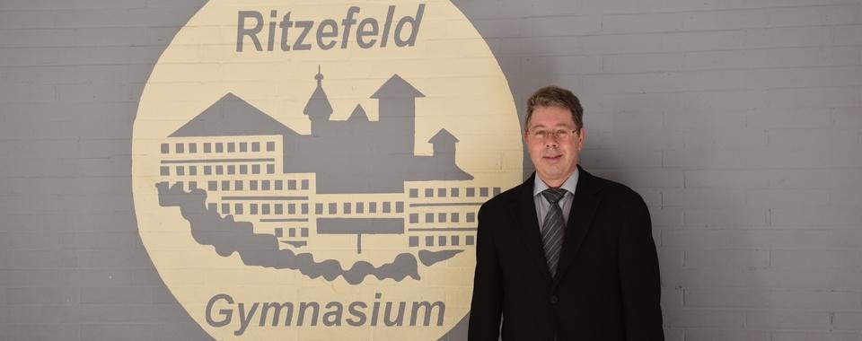Herr Boddenberg - neuer Schulleiter am Ritze