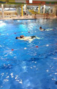 Rettungsschwimmausbildung 2015 - Abschlepp-Übung