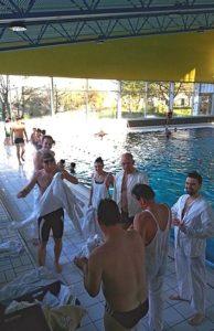 Rettungsschwimmausbildung 2015 - Klamottenausgabe