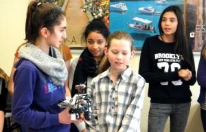 Roboter-Präsentation der 6b