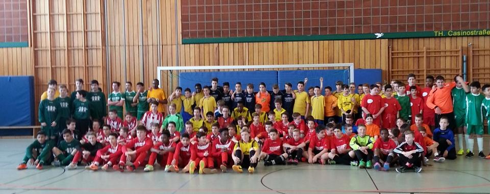 Teilnehmer C-Jugend beim Eurode-Cup