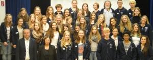 Teilnehmer am Schüleraustausch 2014