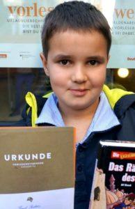 Vorlesewettbewerb - Stufensieger 2015