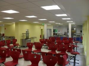 Die neue Mensa am Ritzefeld-Gymnasium