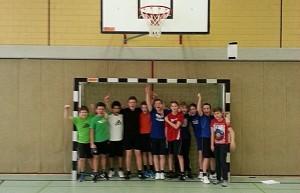 Klasse 7a Jungenmannschaft