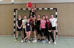 Klasse 7b - Mädchenmannschaft