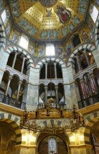 Oktogon der Aachener Pfalzkapelle